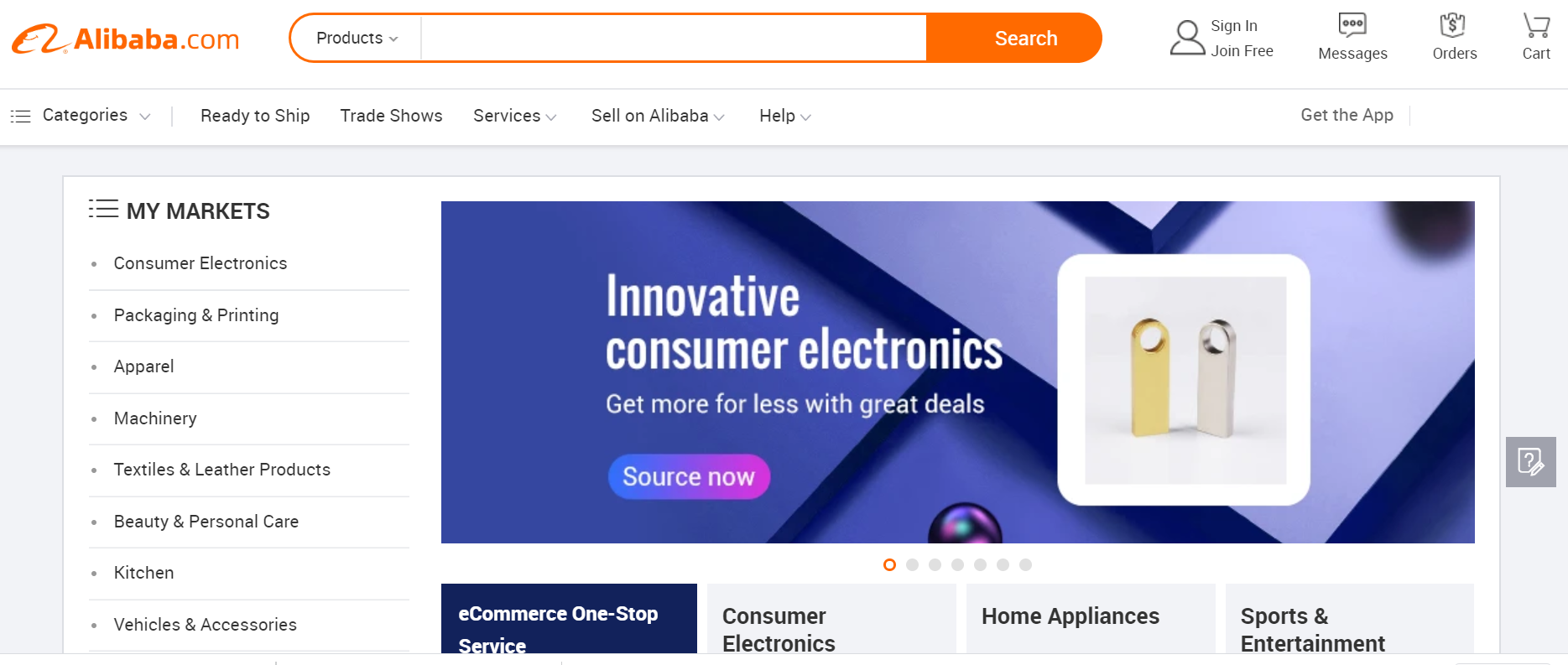 Cara belanja online di marketplace china Alibaba